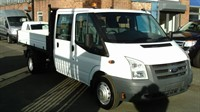 Used Ford Transit Chassis Cab Double 350 2.4