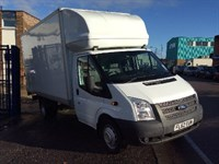 Used Ford Transit LUTON T350 LWB E/F 125PS TAIL