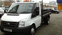 Used Ford Transit Chassis Cab Tipper 2.2TDCi 100