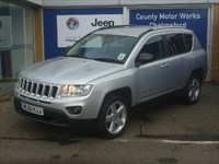 Used Jeep Compass Limited 5dr (2WD)