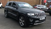 Used Jeep Grand Cherokee CRD Overland 5dr Auto (201