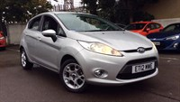 Used Ford Fiesta Zetec 5dr Auto