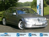 Used Mercedes C220 C-Class CDI BlueEFFICIENCY Sport