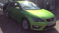 Used SEAT Leon TDI 184 FR 3Dr (Tech Pack)