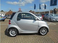 Used Smart Car Fortwo Cabrio Passion mhd 2dr Softouch Auto