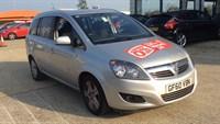 Used Vauxhall Zafira 1.6i (115) Energy 5dr