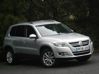 Used VW Tiguan TDi SE AWD with Park Assis