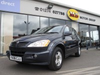 Used Ssangyong Kyron S Tip Auto FULL LEATHER