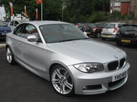 Used BMW 120d M SPORT RED LEATHER