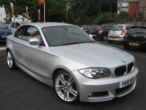 used BMW 120d M SPORT RED LEATHER in glamorgan