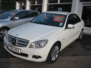used Mercedes C200 CDI BLUEEFFICIENCY EXECUTIVE SE in glamorgan