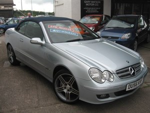 used Mercedes  CLK CLK350 ELEGANCE in glamorgan