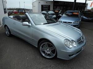 used Mercedes CLK350 CLK CLK350 ELEGANCE in glamorgan