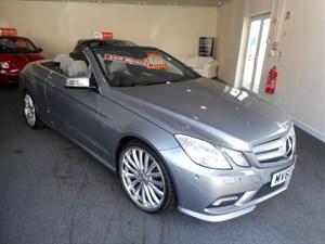 used Mercedes E200 CGI BLUEEFFICIENCY SPORT in glamorgan