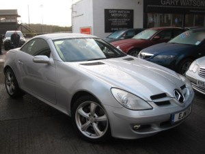 used Mercedes SLK350 Automatic in glamorgan