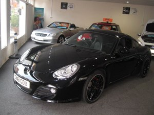 used Porsche Cayman S BLACK EDITION in glamorgan