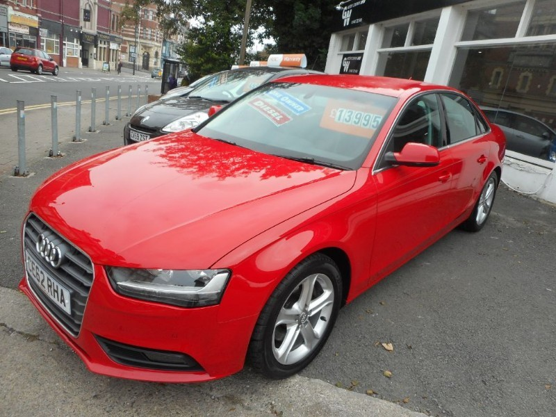 used Audi A4 TDI SE TECHNIK in glamorgan