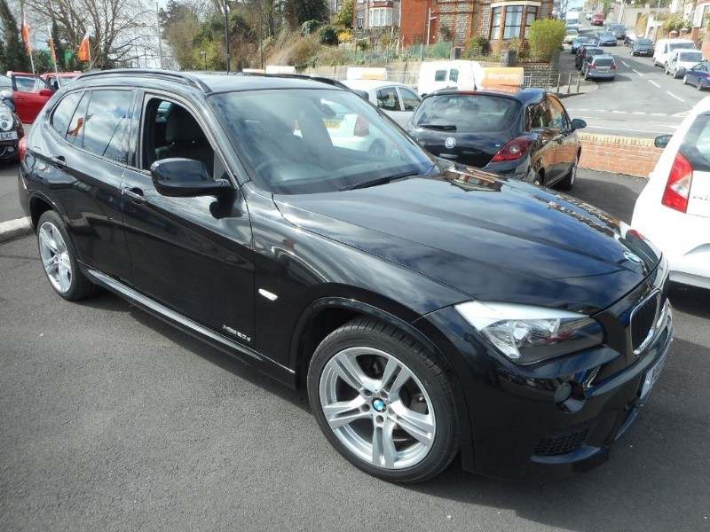 used BMW X1 XDRIVE20D M SPORT in glamorgan