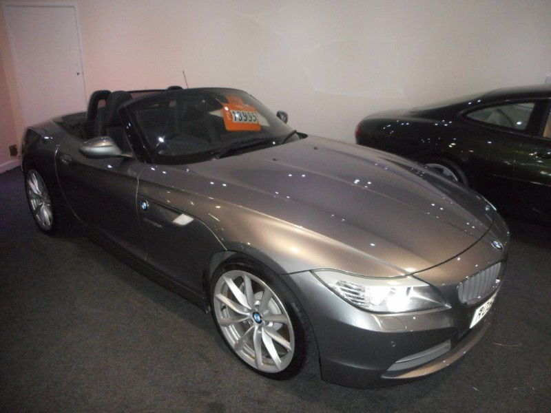 used BMW Z4 SDRIVE35I ROADSTER in glamorgan