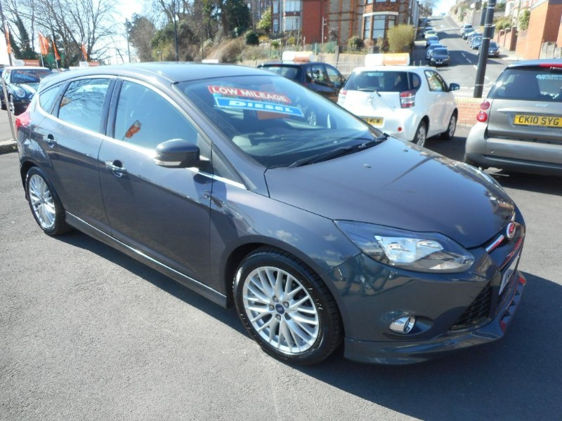 used Ford Focus ZETEC S TDCI in glamorgan