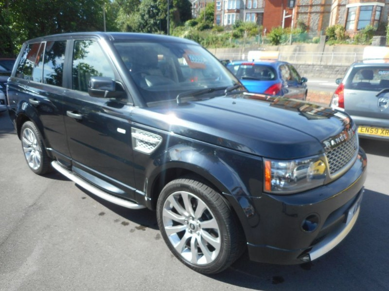 used Land Rover Range Rover Sport TDV6 AUTOBIOGRAPHY in glamorgan
