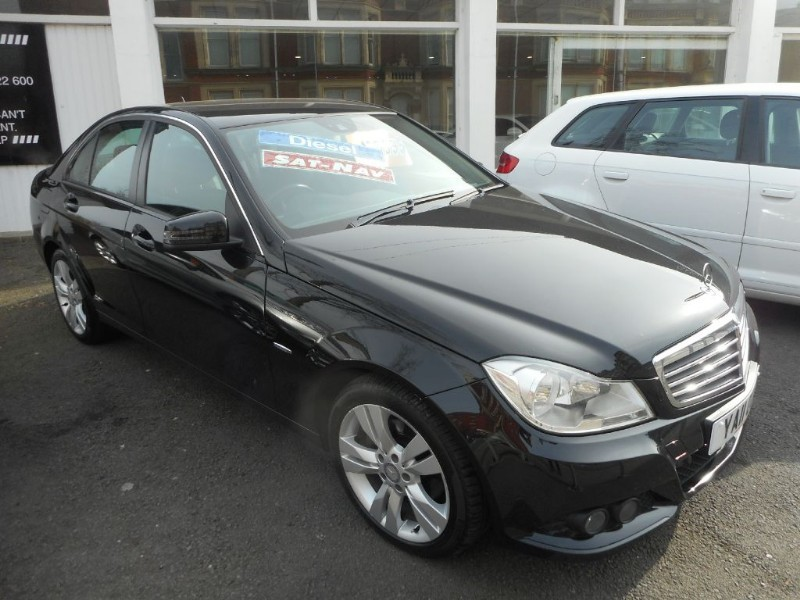 used Mercedes C220 CDI BLUEEFFICIENCY SE EDITION 125 in glamorgan