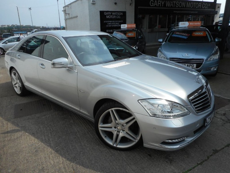 used Mercedes S350 BLUETEC in glamorgan