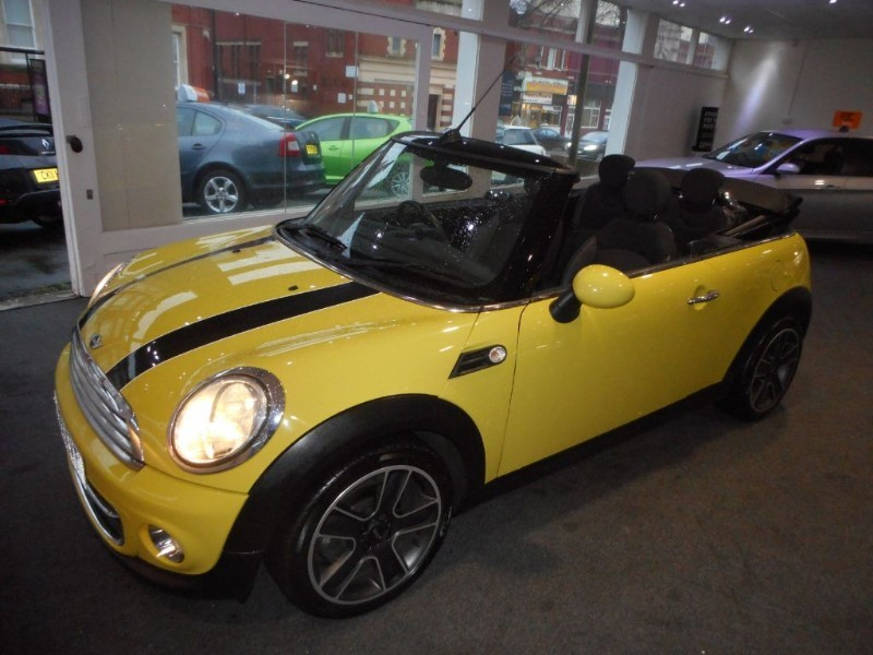 used MINI Convertible COOPER in glamorgan