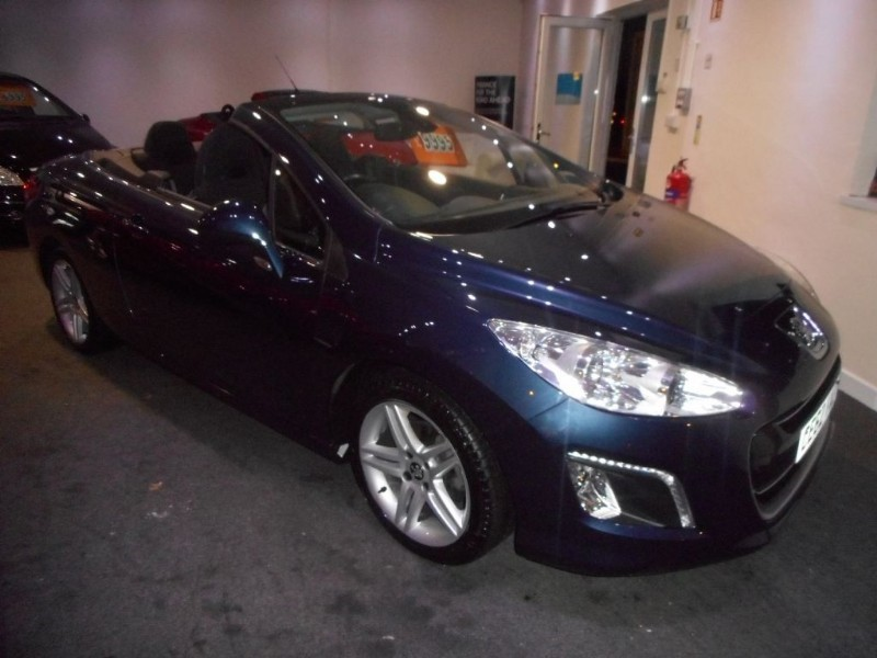 used Peugeot 308 E-HDI CC ACTIVE in glamorgan