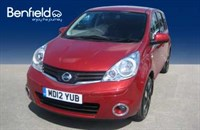 Used Nissan Note 1.6 N-TEC+ A