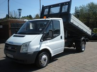 Used Ford Transit Tipper. No VAT