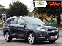 Used Chevrolet Captiva VCDi LTZ 5dr 4WD SatNav/ Leather/ Full history
