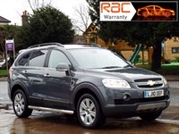 Used Chevrolet Captiva 2.0VCDi LTX 5dr 4WD Full leather interior