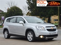 Used Chevrolet Orlando 2.0 LTZ 5dr 1 OWNER 7 SEATS FULL HISTORY