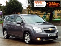 Used Chevrolet Orlando LTZ 5dr 1 Owner / Full service history