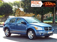 Used Dodge Caliber CRD SXT 5dr Full leather interior