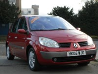 Used Renault Megane Scenic VVT DYNAMIQUE 5DR CHOICE OF 3
