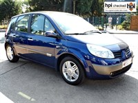 Used Renault Scenic VVT PRIVILEGE 5DR CHOICE OF 3