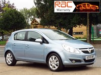 Used Vauxhall Corsa 1.4i 16V Design 5dr Auto Part leather interior