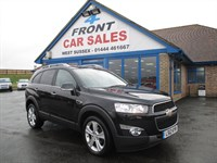 Used Chevrolet Captiva VCDi LTZ 5dr 4WD SAT/NAV-7 SEATS-REAR CAMERA