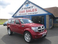 Used Dodge Nitro CRD SXT 5dr Auto 2 TONE HEATED LEATHER