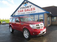 Used Dodge Nitro CRD SXT 5dr 4WD LEATHER-HEATED SEATS-4WD
