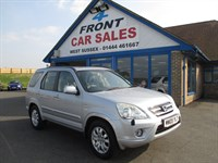 Used Honda CR-V i-VTEC Executive 5dr HONDA S/H-SAT/NAV