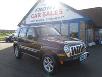 Used Jeep Cherokee Limited 5dr 4WD SAT/NAV-SUNROOF-4X4