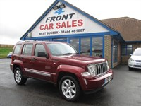 Used Jeep Cherokee CRD Limited 5dr Auto 1 OWNER-LEATHER
