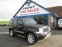 Used Jeep Cherokee CRD Limited 5dr SAT/NAV-FULL LEATHER-JEEP S/H