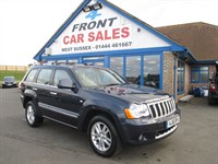 Used Jeep Grand Cherokee CRD Overland 5dr 4WD FULL LEATHER-SAT/NAV