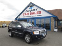 Used Jeep Grand Cherokee CRD Overland 5dr Auto SAT/NAV-JEEP S/H