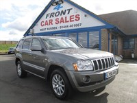 Used Jeep Grand Cherokee CRD Overland 5dr 4WD 4X4-JEEP SERVICE HISTORY