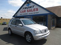Used Mercedes ML270 M CLASS CDI Inspiration 5dr Tip Auto